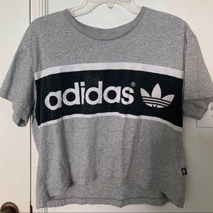 Adidas Originals crop tee